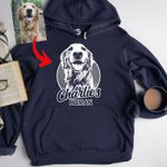 Personalized Dog Hoodie For Humans Custom Dog Hoodie For Dog Lovers
