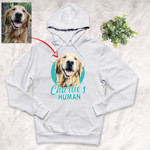 Customized Pet Colourful Painting - Human Marvelous Unisex Hoodie For Pet Owners