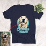 Customized Pet Colourful Painting - Human Marvelous Unisex T-shirt For Pet Owners