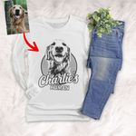 Personalized Dog Long Sleeve Shirt For Humans Custom Dog Long Sleeve Shirt For Dog Lovers