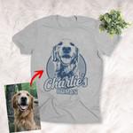 Personalized Dog Shirts For Humans Custom Dog T-shirts