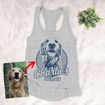 Personalized Dog Tank top For Humans Custom Dog Tank top For Dog Lovers