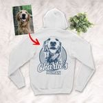 Personalized Dog Zip Hoodie For Humans Custom Dog Zip Hoodie For Dog Lovers