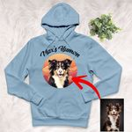 Personalized Pet Colourful Painting - Marvelous Beloved Pet Unisex Hoodie For Pet Owners