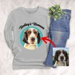Personalized Pet Colourful Painting - Marvelous Beloved Pet Unisex Long Sleeves Tee For Pet Owners