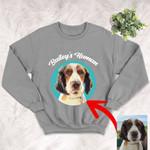 Personalized Pet Colourful Painting - Marvelous Beloved Pet Unisex Crewneck Sweatshirt For Pet Owners