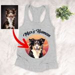 Personalized Pet Colourful Painting - Marvelous Beloved Pet Unisex Tank Top For Pet Owners