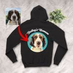 Personalized Pet Colourful Painting - Marvelous Beloved Pet Unisex Zip Hoodie For Pet Owners