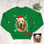 Personalized Dog Colorful Oil Painting Men & Women Sweater Shirt Christmas for Dog Lovers