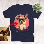 Personalized Pet Colourful Painting - Marvelous Beloved Pet Unisex Adult T-shirt For Pet Owners