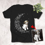 I Love You To The Moon And Back Customized Pet Illustration T-shirt Unisex T-shirt For Pet Owners
