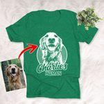 Custom Pet Portrait Shirt