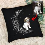 Customized Pet Illustration Pillow I Love You To The Moon And Back Pillow Case For Pet Owners