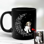 Customized Pet Illustration Mug I Love You To The Moon And Back Mug For Pet Owners