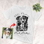 Dog Papa Dog Mama To Be Owner Customized Unisex T-shirt Gift For Dog Papa