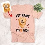 Dog Mom Personalized Unisex T-shirt Special Mother's Day Gift for Mother, Mom