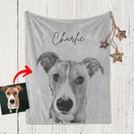 Pet Human Blanket Gift For Dog Moms, Dog Dads, Pet Lovers