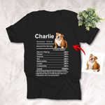 Fact Nutrition Customized Unisex T-shirt Gift for Dog Lovers, Dog Dads, Dog Mom