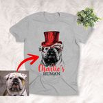 Personalized Hipster Dog Shirt For Humans Custom Style Accessories
