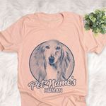 Personalized Afghan Hound Dog Shirts For Human Bella Canvas Unisex T-shirt For Dog Mom, Dog Dad