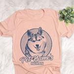 Personalized Alaskan Klee Kai Dog Shirts For Human Bella Canvas Unisex T-shirt For Dog Mom, Dog Dad