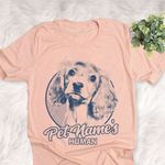 Personalized American Cocker Spaniel Dog Shirts For Human Bella Canvas Unisex T-shirt For Dog Mom, Dog Dad
