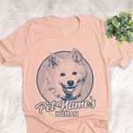 Personalized American Eskimo Dog Shirts For Human Bella Canvas Unisex T-shirt For Dog Mom, Dog Dad