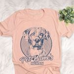 Personalized American Leopard Dog Shirts For Human Bella Canvas Unisex T-shirt For Dog Mom, Dog Dad