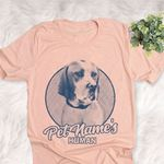 Personalized American Pointer Dog Shirts For Human Bella Canvas Unisex T-shirt For Dog Mom, Dog Dad
