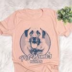 Personalized Anatolian Shepherd Dog Shirts For Human Bella Canvas Unisex T-shirt