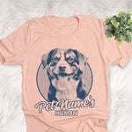 Personalized Appenzeller Sennenhund Dog Shirts For Human Bella Canvas Unisex T-shirt