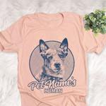 Personalized Australian Cattle Dog Shirts For Human Bella Canvas Unisex T-shirt