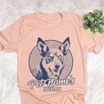 Personalized Australian Kelpie Dog Shirts For Human Bella Canvas Unisex T-shirt