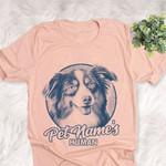 Personalized Australian Shepherd Dog Shirts For Human Bella Canvas Unisex T-shirt