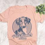Personalized Azawakh Dog Shirts For Human Bella Canvas Unisex T-shirt