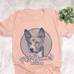 Personalized Basenji Dog Shirts For Human Bella Canvas Unisex T-shirt