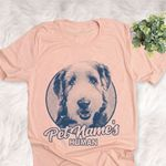 Personalized Bearded Collie Dog Shirts For Human Bella Canvas Unisex T-shirt