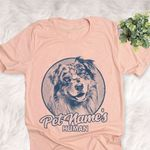 Personalized Aussiedor Dog Shirts For Human Bella Canvas Unisex T-shirt
