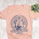 Personalized Bedlington Terrier Dog Shirts For Human Bella Canvas Unisex T-shirt