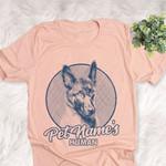Personalized Belgian Malinois Dog Shirts For Human Bella Canvas Unisex T-shirt