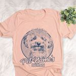 Personalized Bichonpoo Dog Shirts For Human Bella Canvas Unisex T-shirt