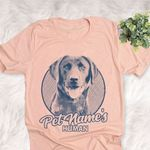 Personalized Black Lab Dog Shirts For Human Bella Canvas Unisex T-shirt