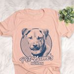 Personalized Black Mouth Cur Dog Shirts For Human Bella Canvas Unisex T-shirt