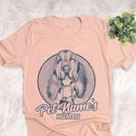 Personalized Bloodhound Dog Shirts For Human Bella Canvas Unisex T-shirt