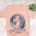 Personalized Bluetick Coonhound Dog Shirts For Human Bella Canvas Unisex T-shirt