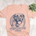Personalized Boerboel Dog Shirts For Human Bella Canvas Unisex T-shirt