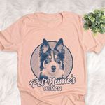Personalized Border Collie Dog Shirts For Human Bella Canvas Unisex T-shirt