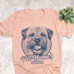 Personalized Border Terrier Dog Shirts For Human Bella Canvas Unisex T-shirt