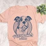 Personalized Boston Terrier Dog Shirts For Human Bella Canvas Unisex T-shirt