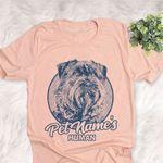 Personalized Bouvier des Flandres Dog Shirts For Human Bella Canvas Unisex T-shirt